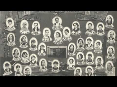 Выпускное фото 10-Б класса средней школы №7 г. Комсомольска-на-Амуре