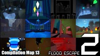 Roblox Flood Escape 2 (Testkarte) - Zusammenstellungskarte 13