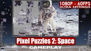 Pixel Puzzles 2: Space gameplay PC HD [1080p/60fps] #pp2s