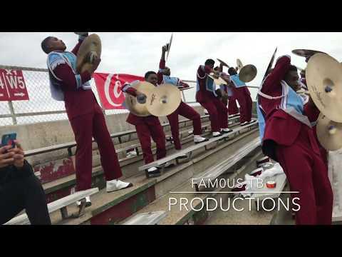 Talladega Marching Band (2018) - T-Shirt [Percussion View]