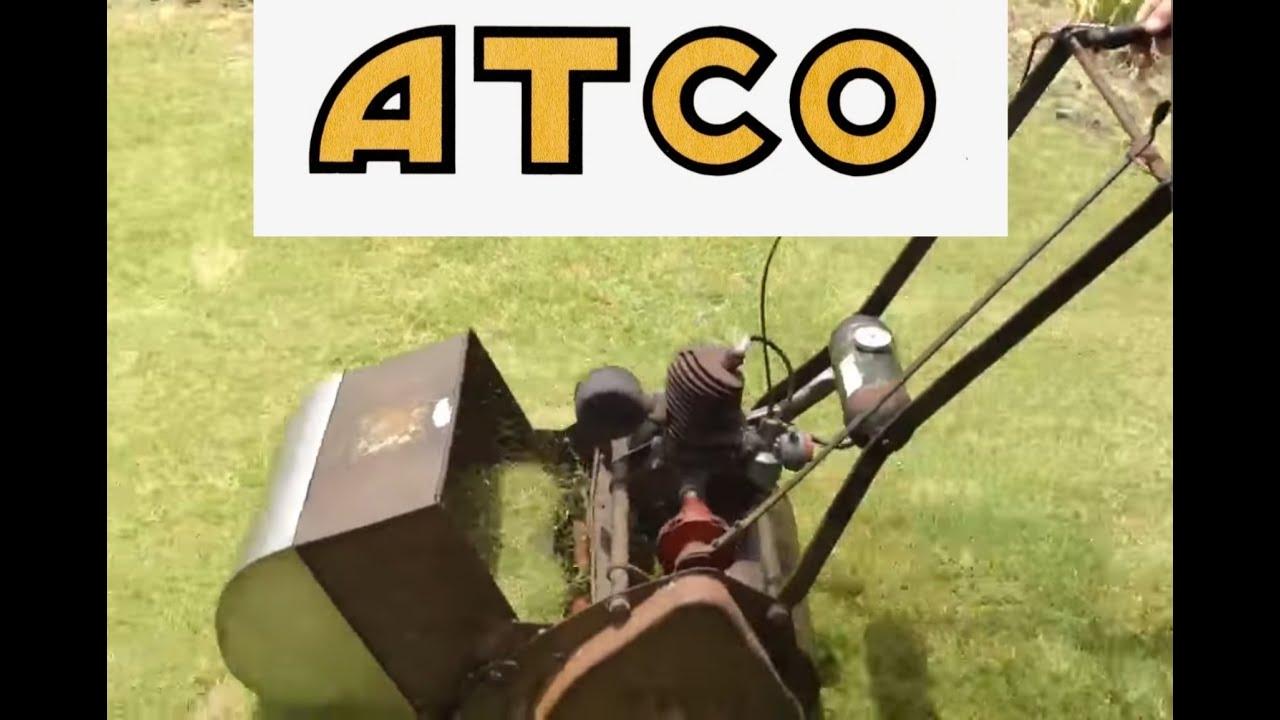 Atco Lawn Mower Vintage Circa 1950 Villiers Engine 2