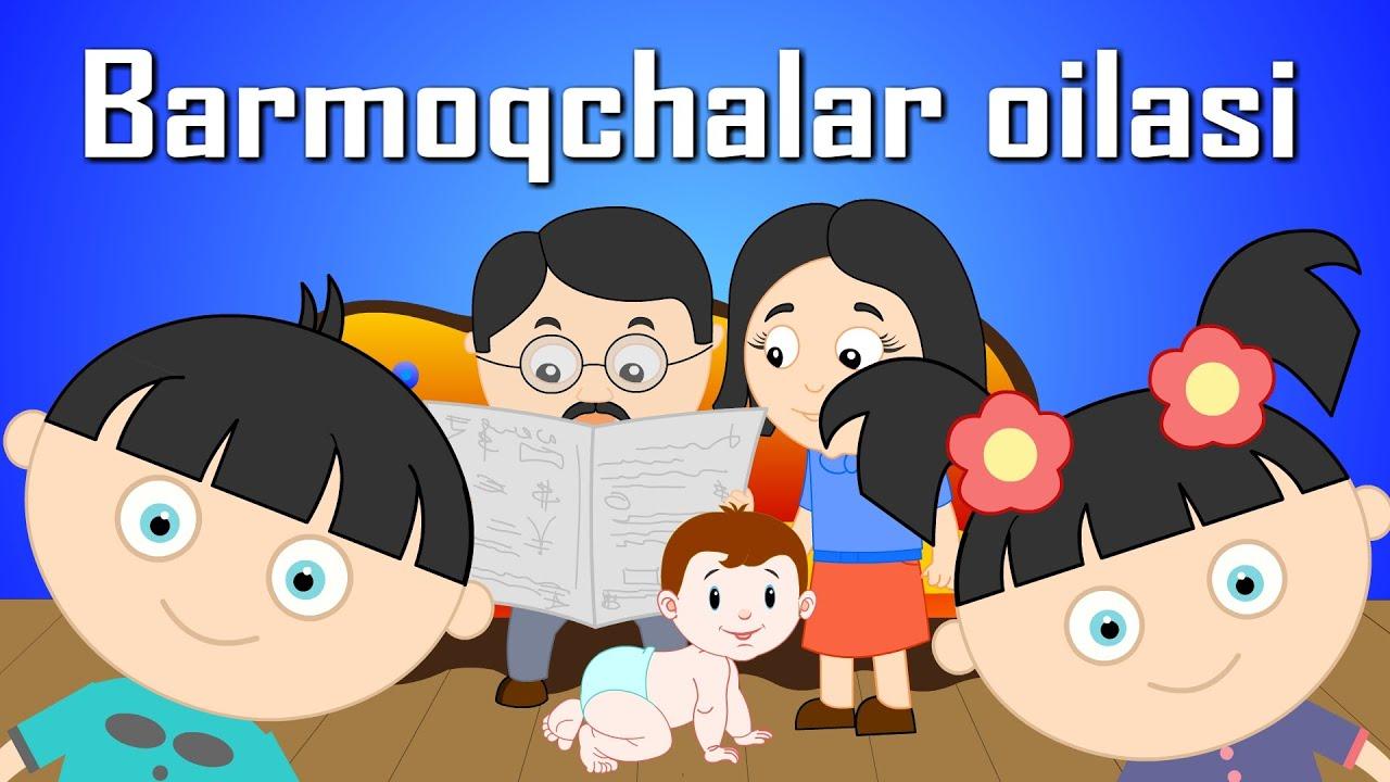 Download Barmoqchalar Oilasi - Bolalar Qo'shiqlar | Özbek Parmak Ailesi | Узбекская Семья Пальчиков