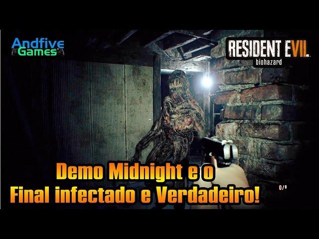 Resident Evil 7 : Demo Midnight, Final verdadeiro e a Fuga da Casa