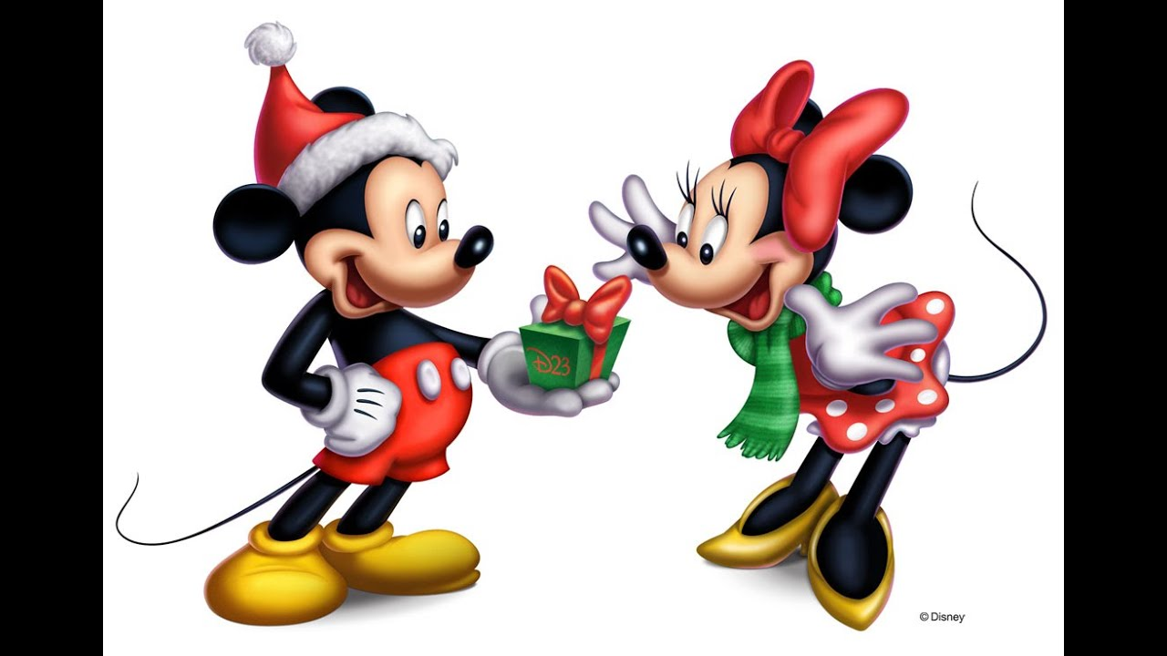 Mickey mouse christmas tree coloring pages