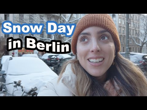 Berlin Snow Day ❄️| Weekend in Germany
