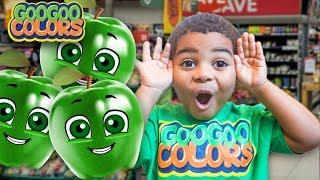 Goo Goo Gaga Help! Apple Lost Her Color! Learn How to Spell Green with Goo Goo Mom