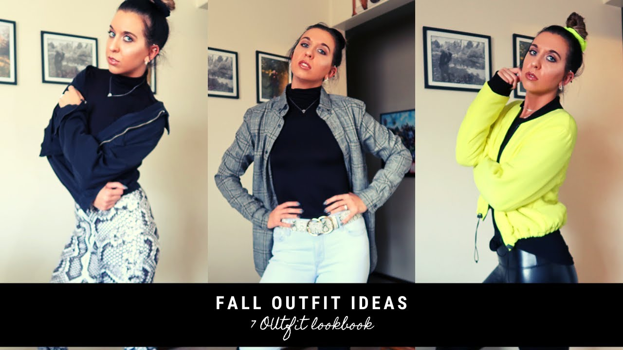 [VIDEO] - Fall Outfit Ideas | Lookbook 1