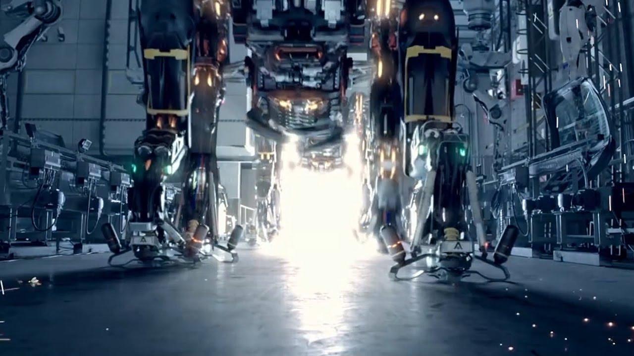 未来机械工厂觉醒智能,源源不断生产机甲军队,向人类宣战