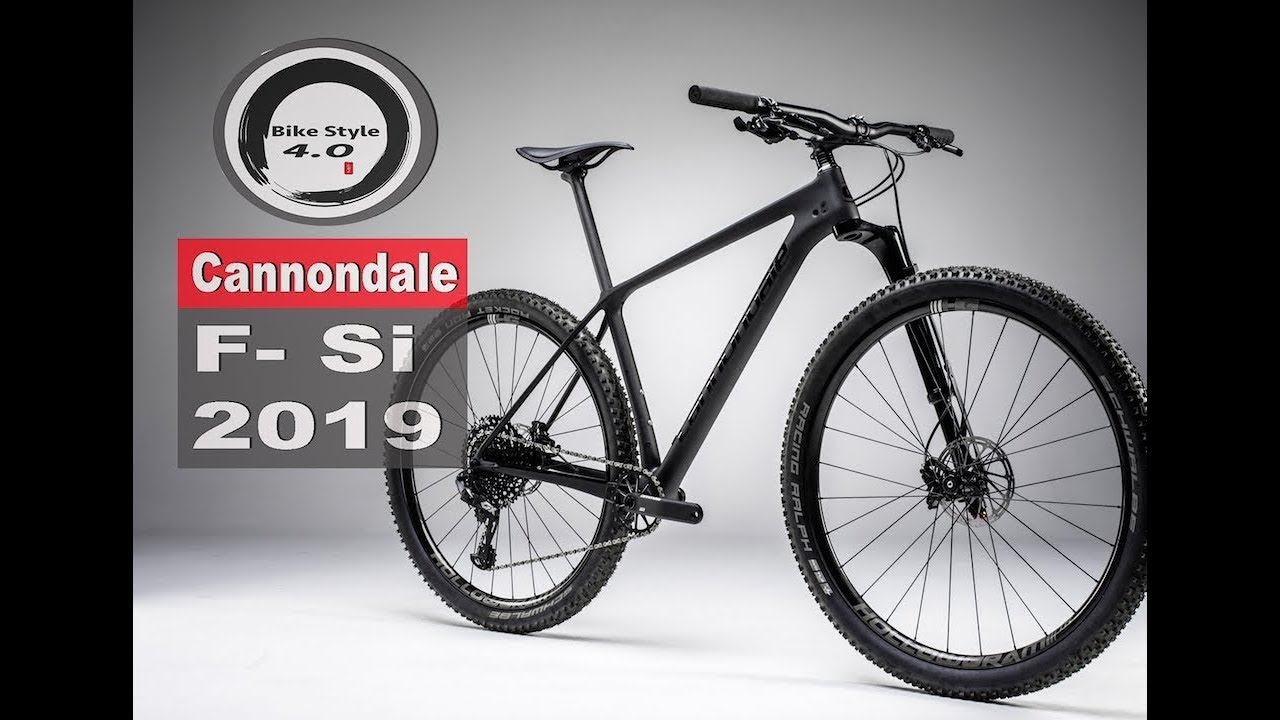 cca4626f43a Cannondale F-Si Hardtail / New Lefty 2019 first look - YouTube