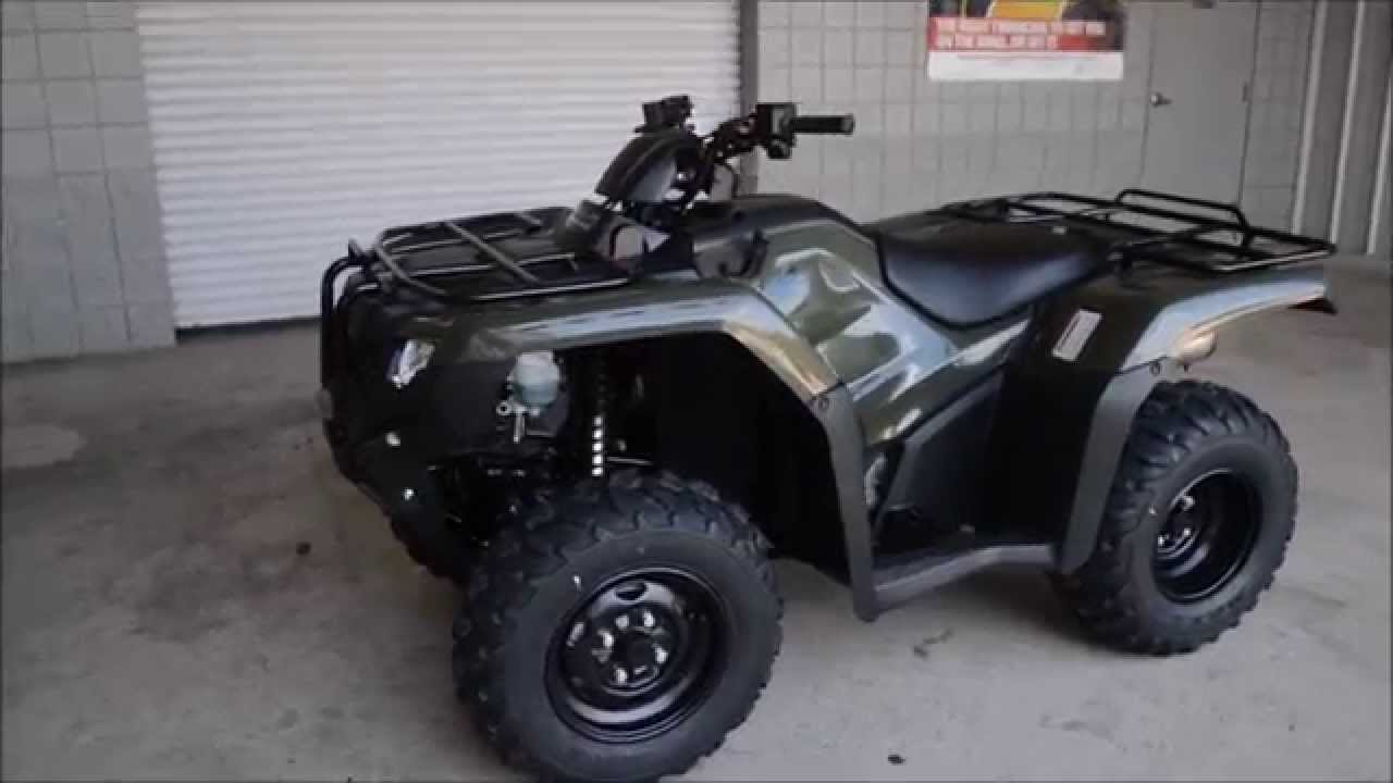 Honda Four Wheelers For Sale >> 2015 Rancher Dct For Sale Trx420fa1 Honda Of Chattanooga Four Wheelers