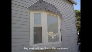 Energy Star Bay Window Build And Installation Photos By Scotts Contracting