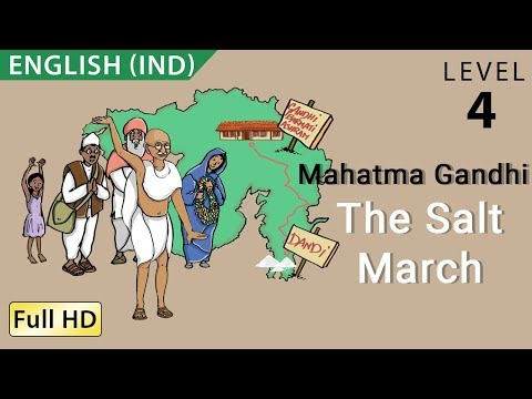 "Mahatma Gandhi, The Salt March, The Dandi March - Story for Children ""BookBox.com"""