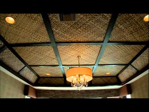 Vanilla Ice Project Tahitian Bamboo Ceiling Youtube