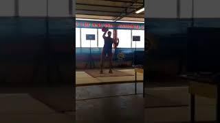 Антон Анасенко рывок 189 раз (32 кг) - 4 этап Кубка Мира 2018 год
