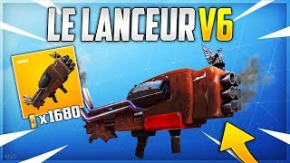 Fortnite: The New 6-Gun Old Launcher on Save the World! - ( V6 launcher)