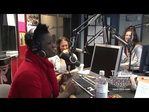Comedienne Leslie Jones on The Show - Rock 105.3