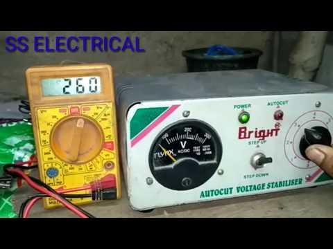 Repair Your Autocut Voltage Stabilizer Autocut Problem In Hindi