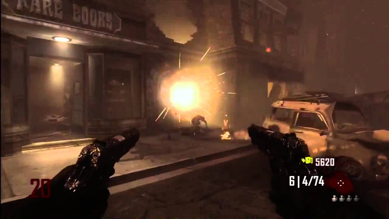 black ops zombies: mustang and sally gameplay - youtube