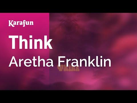 Karaoke Think - Aretha Franklin *