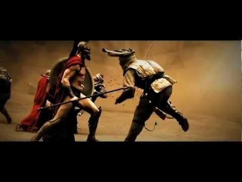 300 Film (HD) -- Best fight / battle scene --