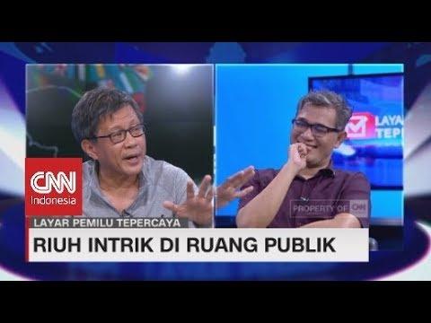 Debat Rocky Gerung vs Budiman Sudjatmiko Bicara Politik Bohong di Ruang Publik