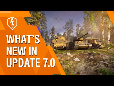 WoT Blitz. What's New In Update 7.0. Livestream