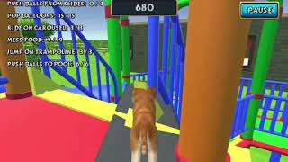 DOG SIMULATOR PUPPY CRAFT GAME LEVEL 4-6 GAME WALKTHROUGH HD