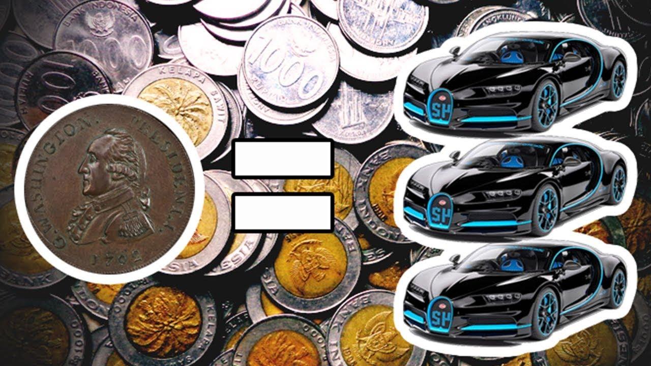 Uang Kuno Seharga 3 Mobil Bugatti Harga Uang Koin Kuno Termahal