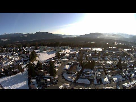 Aerial view of  Kitimat B.C