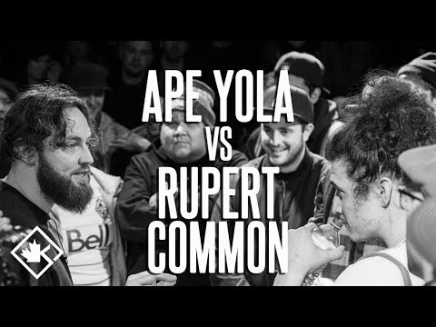 KOTD - Rap Battle - Ape Yola vs Rupert Common | #ReadyOrNot