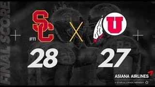 USC vs. Utah Recap