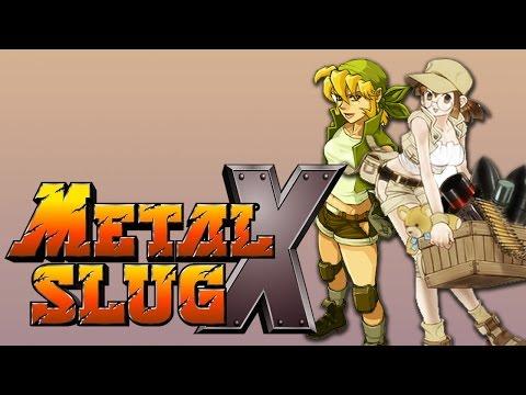 2 Idiots Play Metal Slug X | Mission 1-4