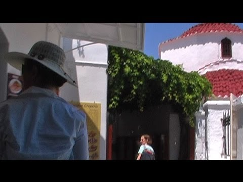 Streets of Lindos, Rhodes