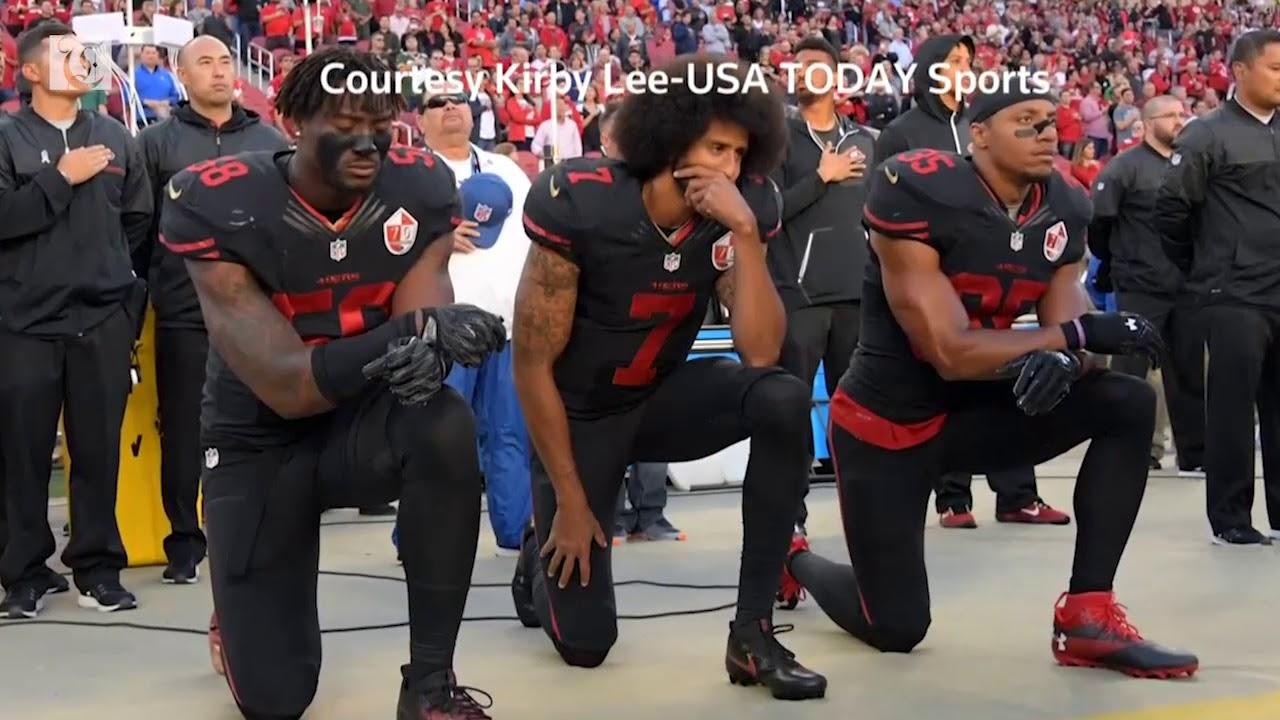 Colin Kaepernick Stars In New Nike Ad Campaign Youtube