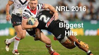NRL 2016 - Biggest Hits