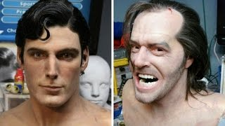 Artist Creates Amazingly Realistic Wax Busts of Famous Actors and Movie Characters- Bobby Causey