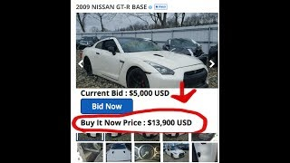 NISSAN GT-R for $14,000?!?!?!