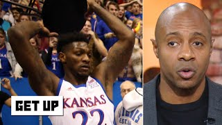 How will Kansas' Silvio De Sousa be punished for picking up a chair during the brawl? | Get Up thumbnail