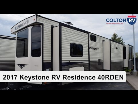 2018 keystone rv residence 40rden | park model travel trailer