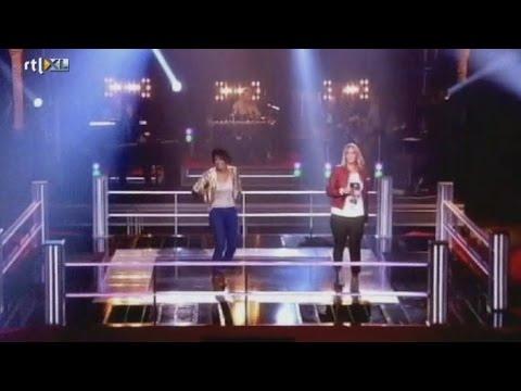 The voice of Holland battle Michelle vs Anuschka - Love is a Battlefield