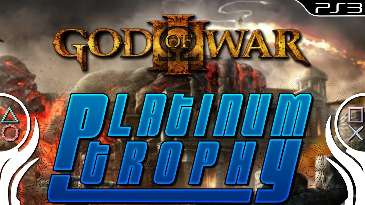 god of war platinum