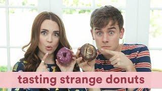 Tasting Strange Donuts (ft. Rosanna Pansino)