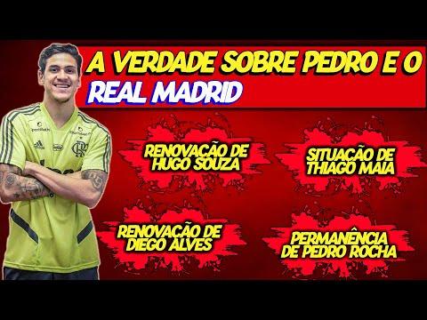FLAMENGO x REAL MADRID - A DISPUTA PELO ATACANTE PEDRO!
