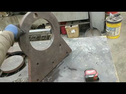 """Big 1"""" Cut Job On My CrossFire CNC ! - Langmuir Systems and Hypertherm 85 for the Win !"""