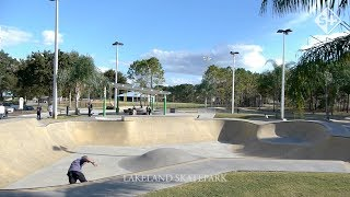 LAKELAND SKATEPARK at Fletcher Park on Lake Bonny