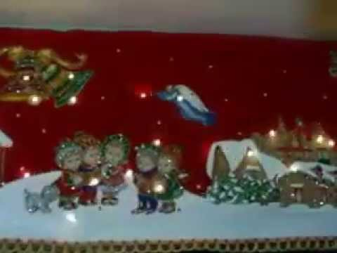 Cenefa navide eda youtube for Cocina de navidad con sara