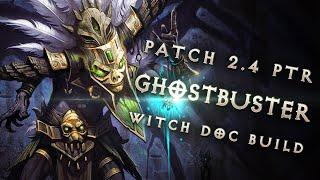 "2.4 Witch Doctor Jade Harvester 'Ghostbuster"" Build - Diablo 3 Reaper of Souls PTR"