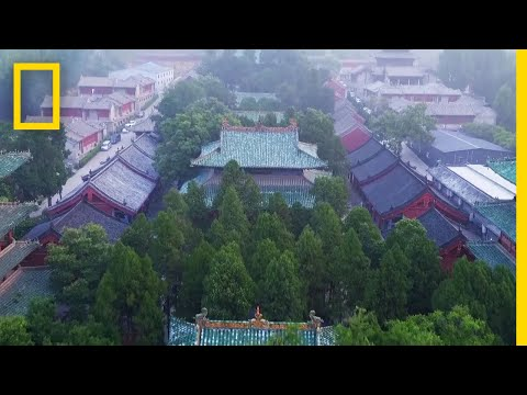 The Shaolin Temple and Their Kung-Fu Monks   National Geographic