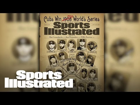 Chicago Cubs Back on SI Cover Since 1908 World Series Win | SI NOW | Sports Illustrated