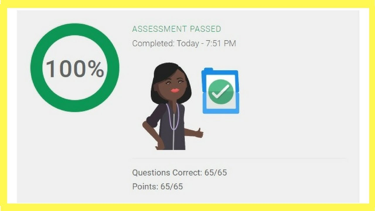 Google Mobile Sites Certification Assessment Exam Answers Live Pass